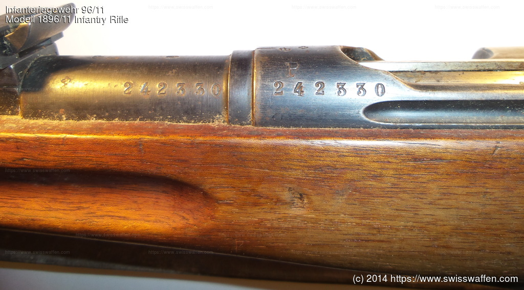 Modell 1896/11 Infantry Rifle